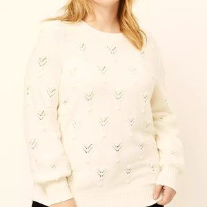 Loft Pointelle Sweater